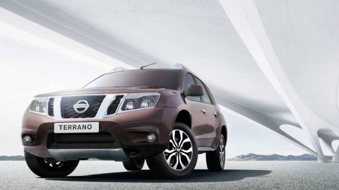 Nissan Terrano Front 3 4th Profile