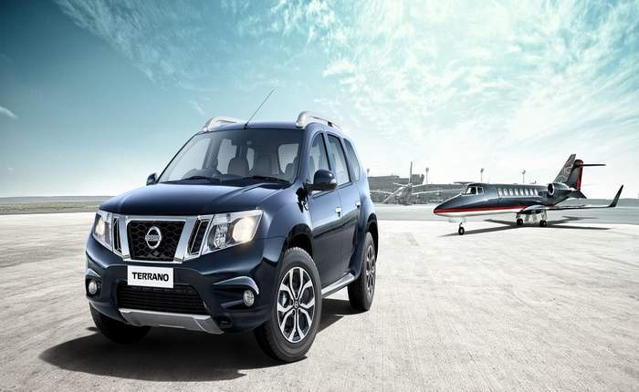Nissan Terrano Front Side Profile