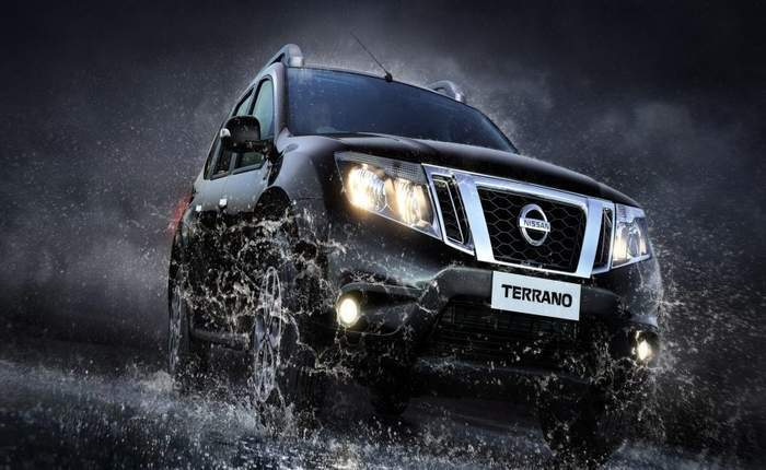 Nissan Terrano Front View