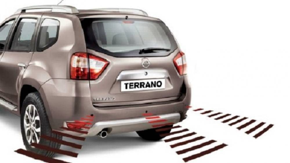 Nissan Terrano Key Features. Rear Parking Sensors