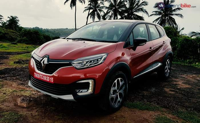 renault captur price in india images mileage features. Black Bedroom Furniture Sets. Home Design Ideas