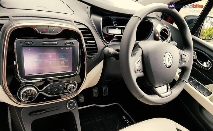 Renault captur 2017 price in india launch date review for Interior renault captur