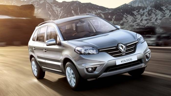 renault koleos 4x4 at price features car specifications. Black Bedroom Furniture Sets. Home Design Ideas