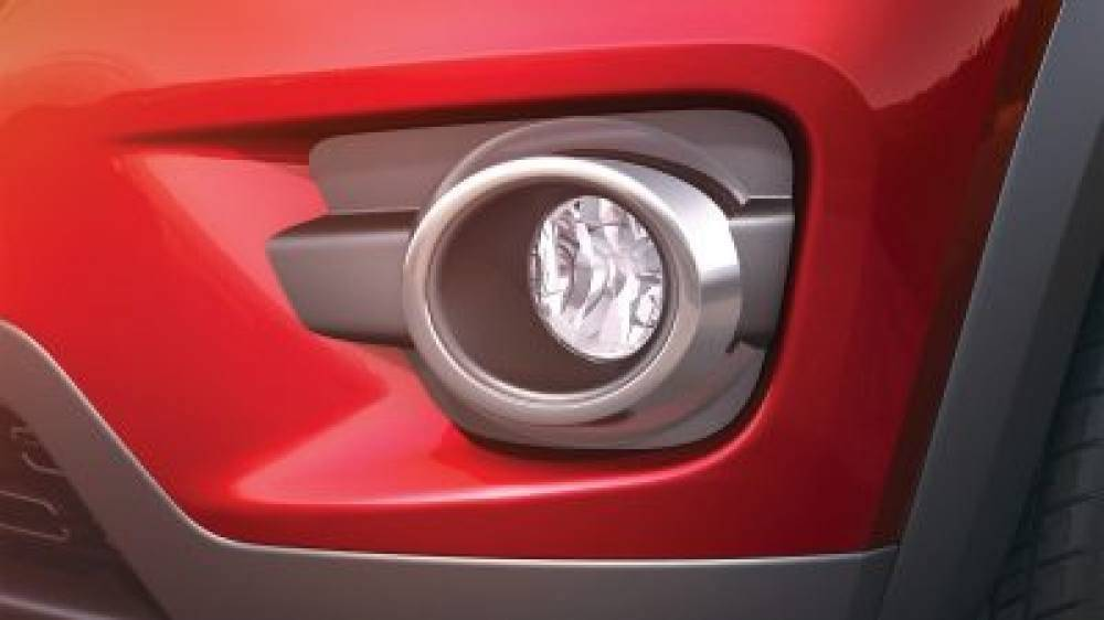 Fog lamp chrome