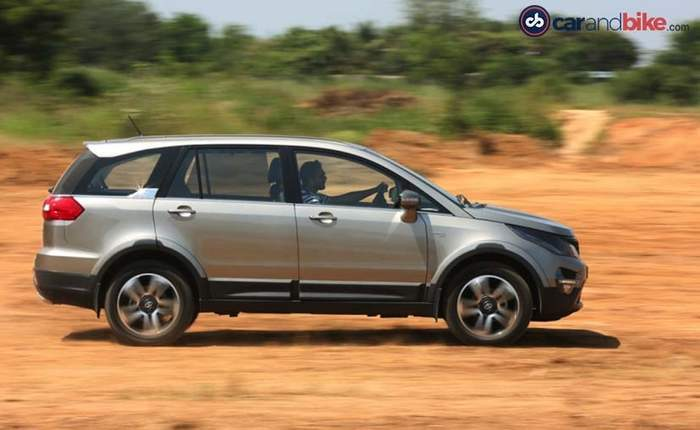 Tata Hexa Price in India, Images, Mileage, Features, Reviews