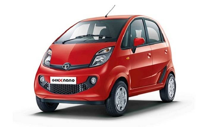 Tata Nano Front Side View