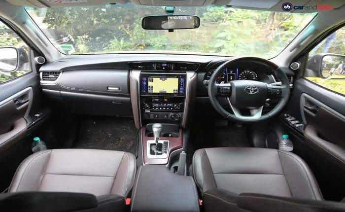 toyota fortuner india price review images   toyota cars