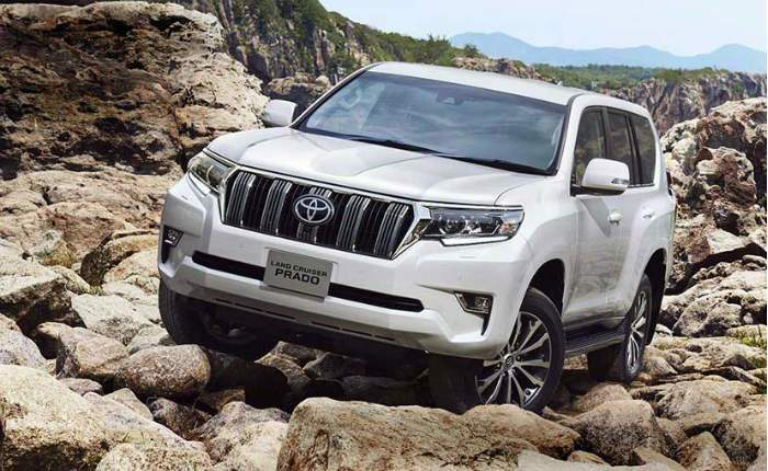 Toyota Land Cruiser Prado Price In India Images Mileage Features