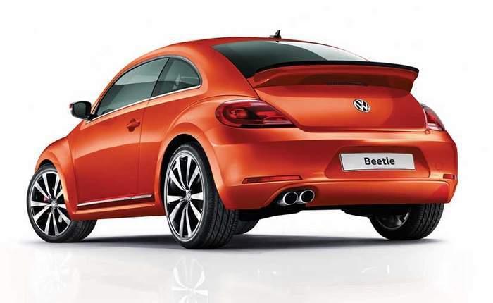 Volkswagen Beetle Rear View