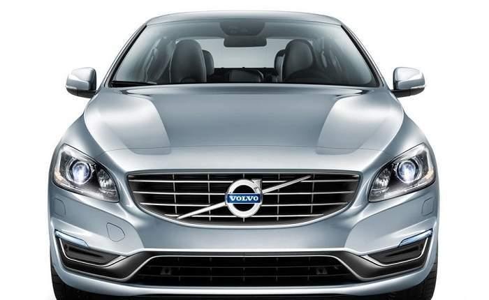 Volvo S60 Front Profile