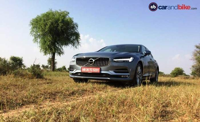 Volvo S90 Grille