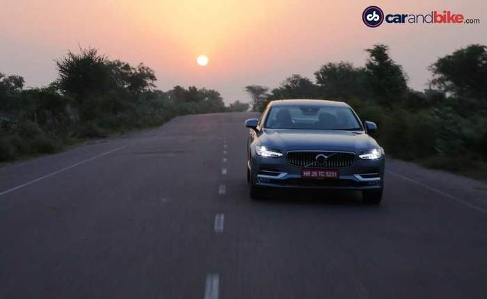 Volvo S90 Runing Front