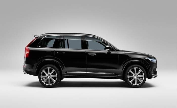 Volvo xc90 india price review images volvo cars
