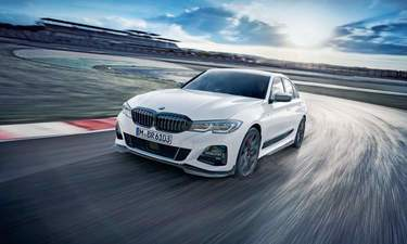 bmw 3 series petrol variants launched prices start at rs 36 9 lakh news. Black Bedroom Furniture Sets. Home Design Ideas