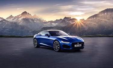 jaguar f type convertible car