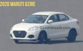 New Maruti Suzuki Dzire